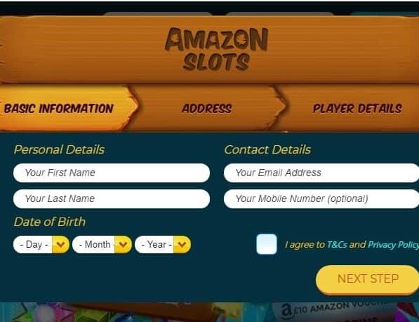 Amazon Slots sign up