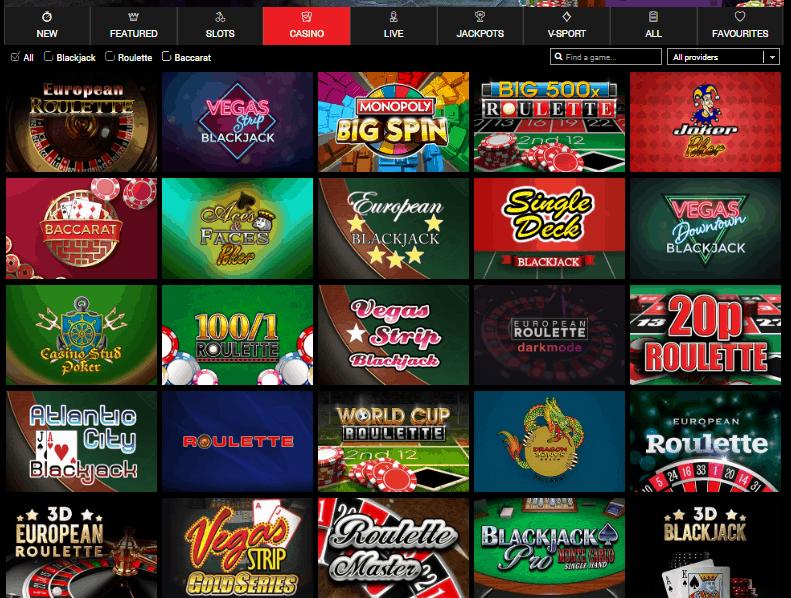 Big World Casino game
