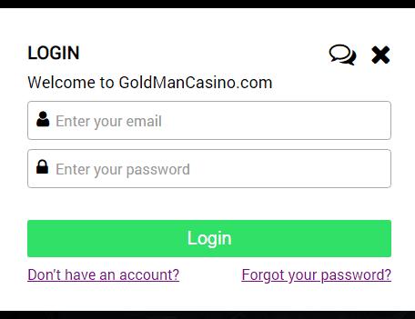 Gold Man Casino