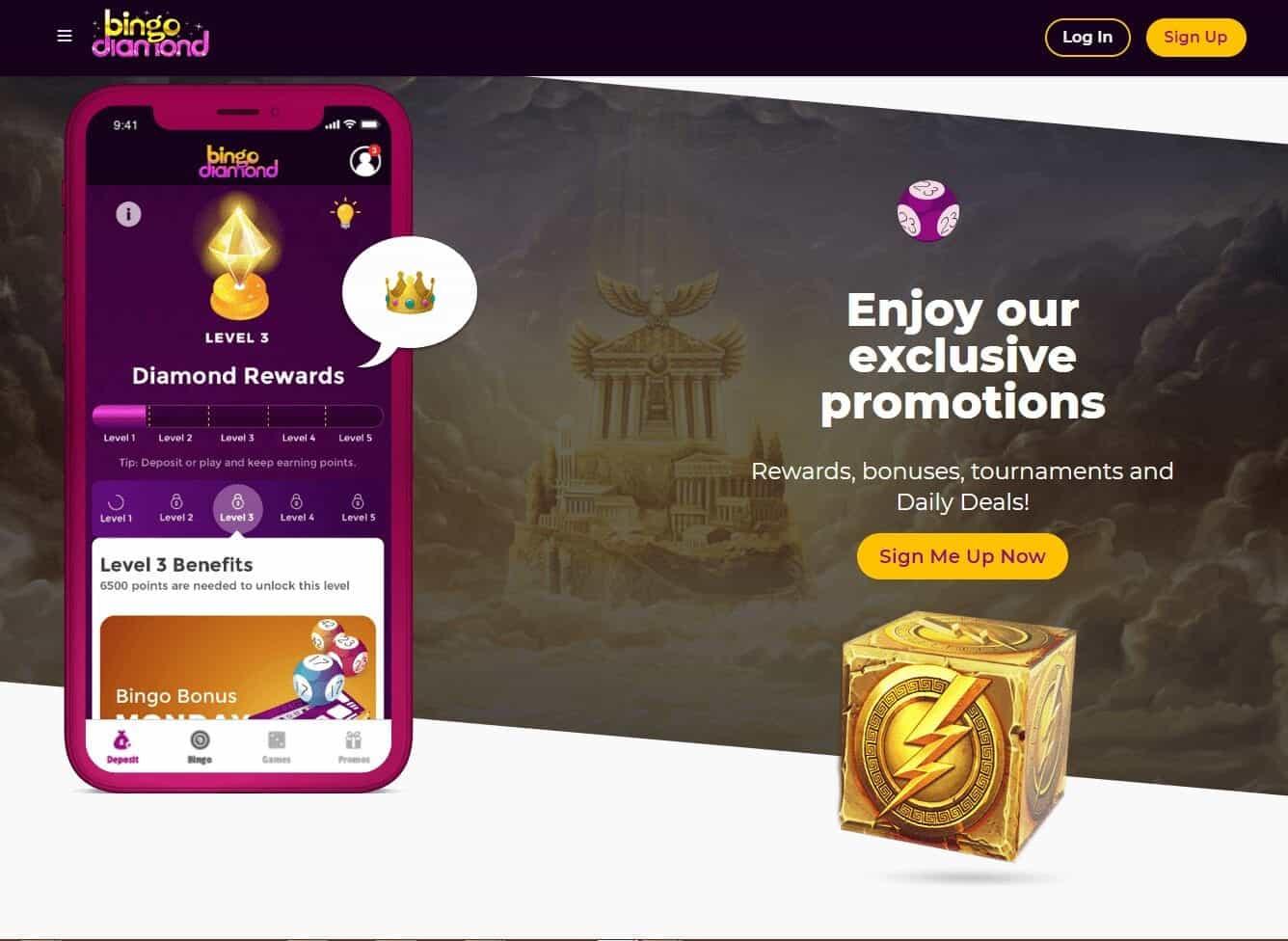 bingo diamond promotions