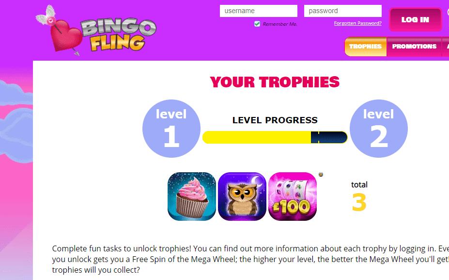 bingo fling login