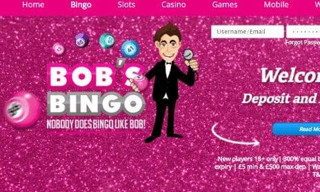 bobs bingo front image