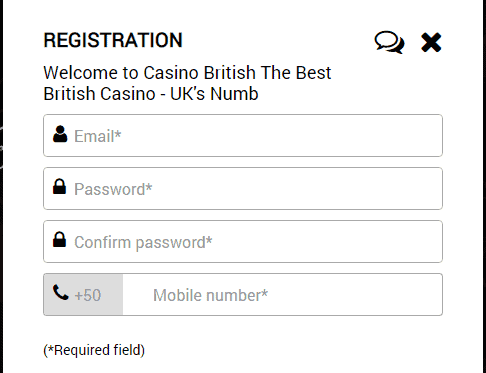 casino british registration