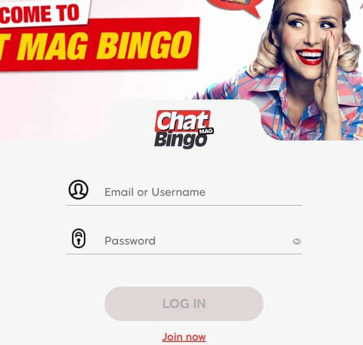 chatmag bingo login