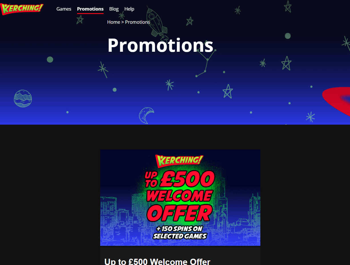kerching promotions