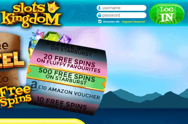 slots kingdom login