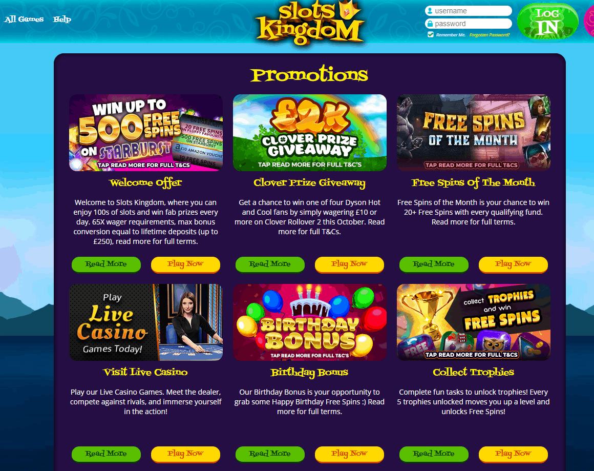 slots kingdom promotions