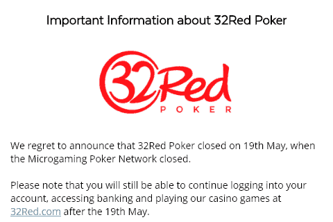 32red poker front image