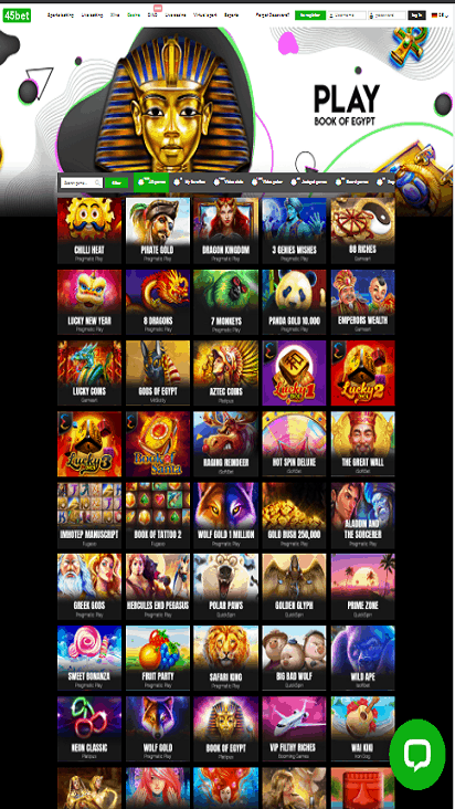 45bet game mobile
