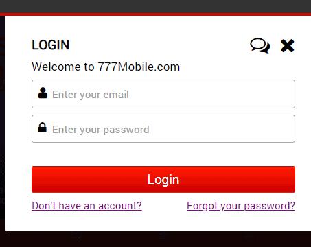777 mobile login
