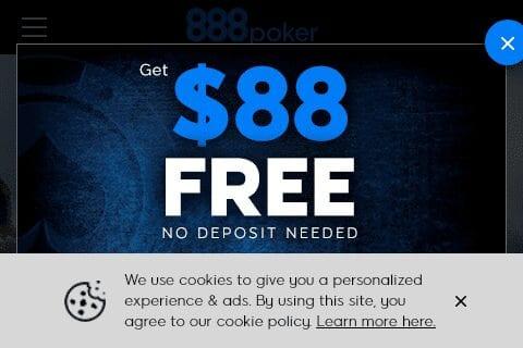 888 poker front image