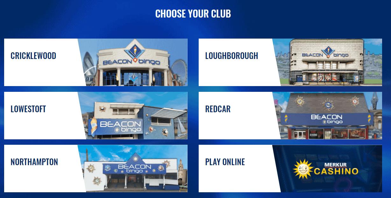 Beacon Bingo Gamepage