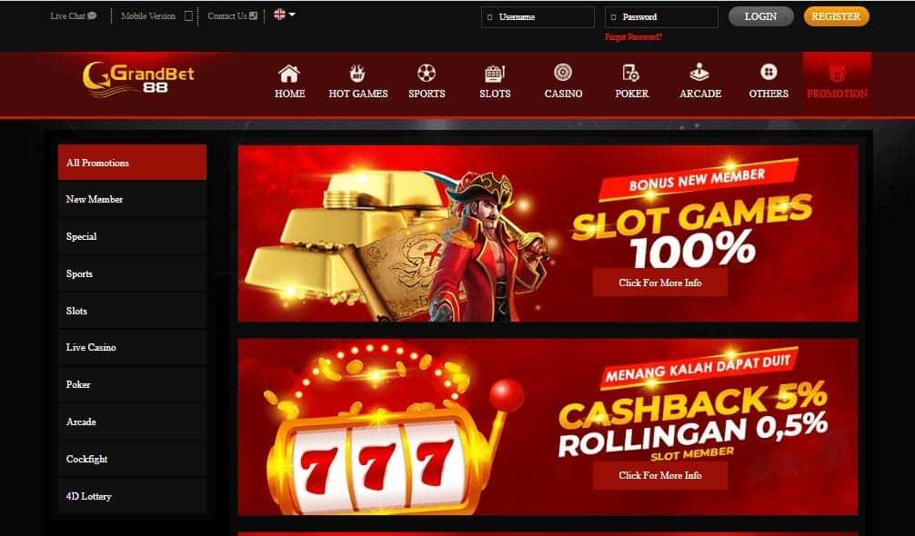 Big Rock Slots promotions