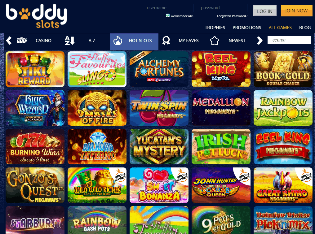 Buddy Slots Game