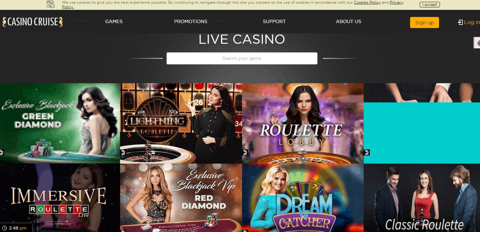 Casino Cruise Game