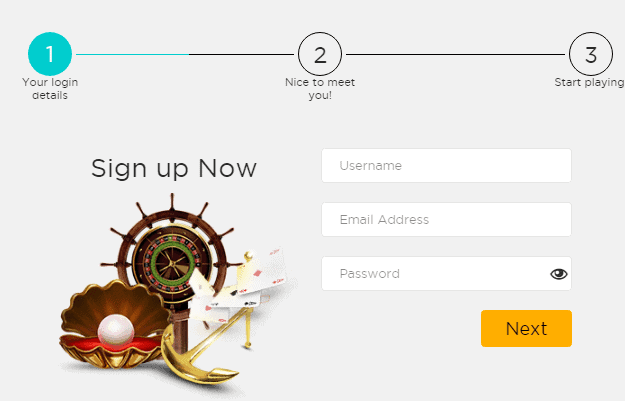 Casino Cruise Signup