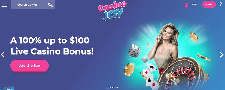 Casino Joy home