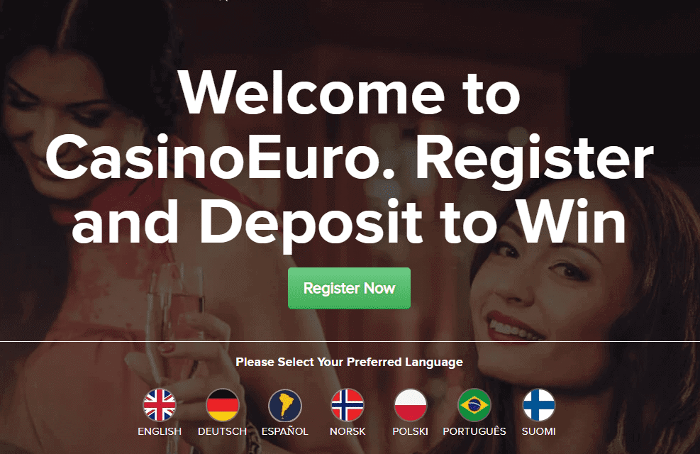 CasinoEuro home