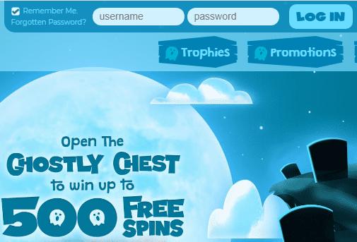 Casper Games Login