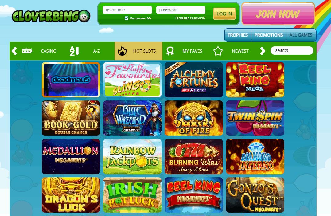 Clover Bingo Game