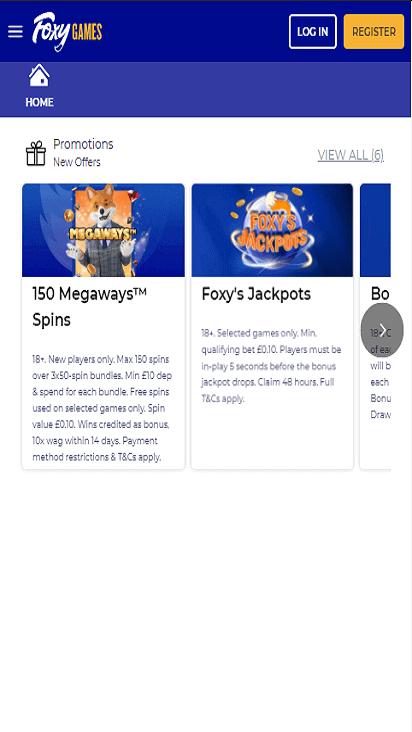 FoxyGames pomo moible