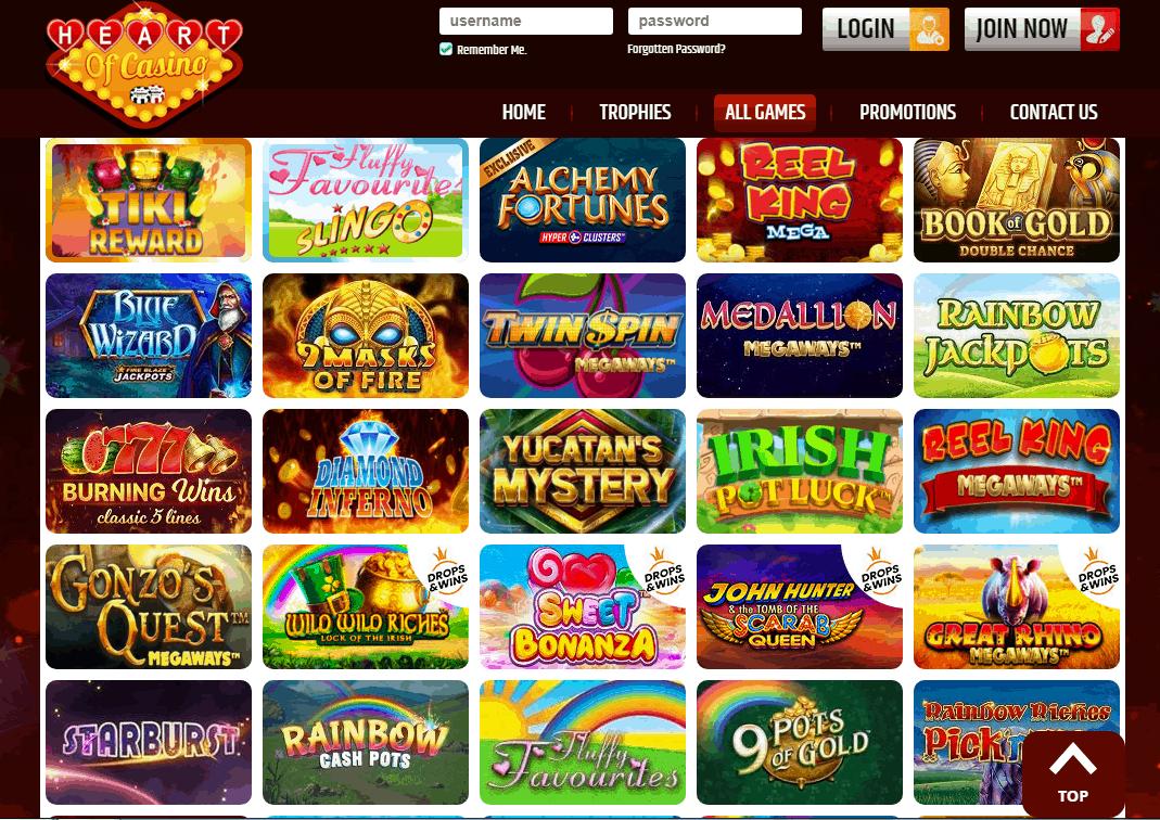 Heart of Casino Game