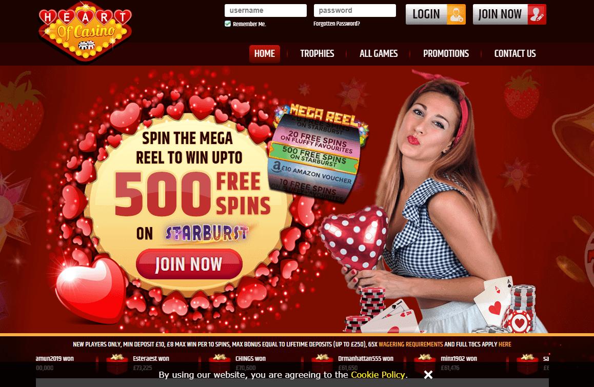 Heart of Casino Home