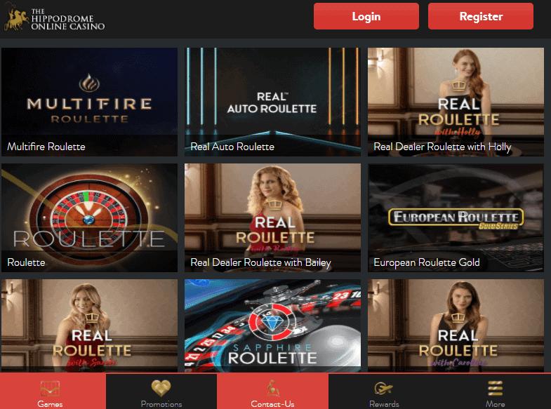 Hippodrome Online promotion