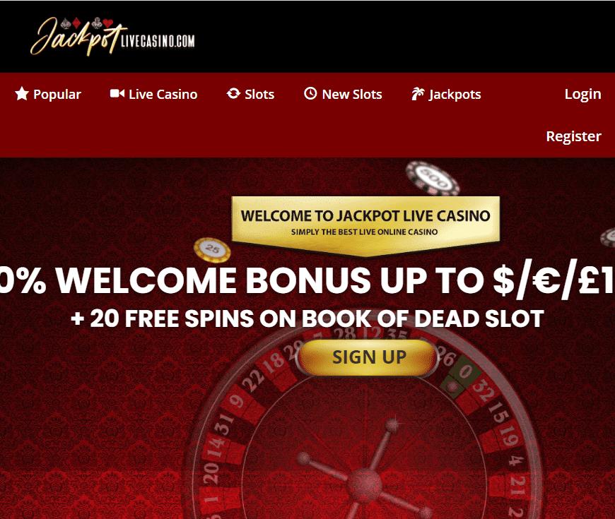 Jackpot Live Casino Image