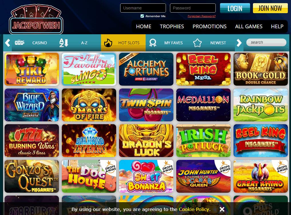 Jackpot Wish Game