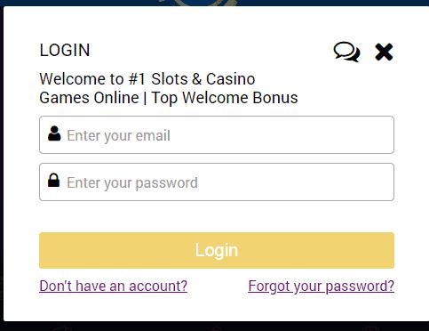 Kingsman Casino login