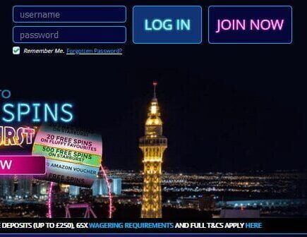 Late Casino login