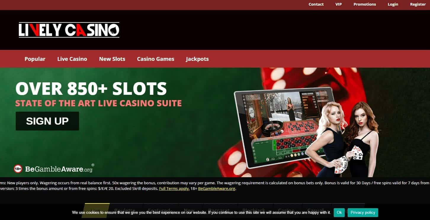 Lively Casino Home