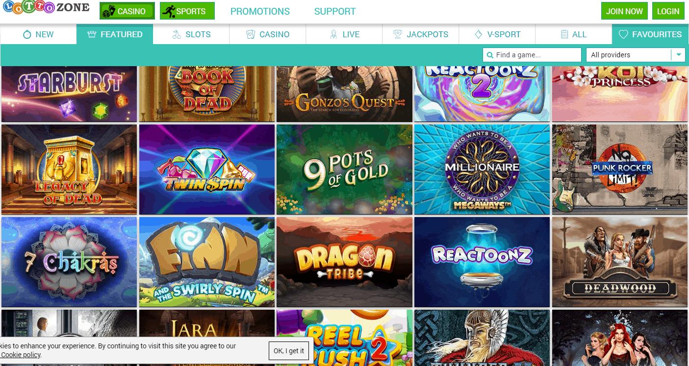 Lotto zone Game