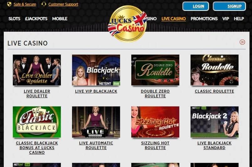 Lucks Casino Game