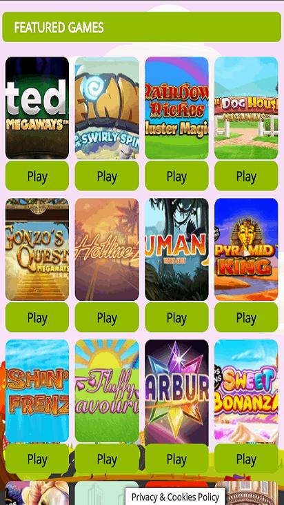 LuckyLadiesBingo game mobile