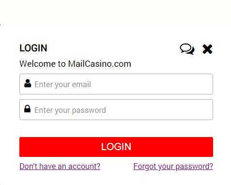 Mail Casino Login