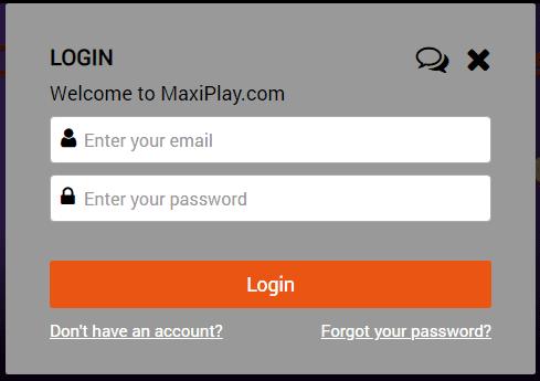 Maxi Play Login