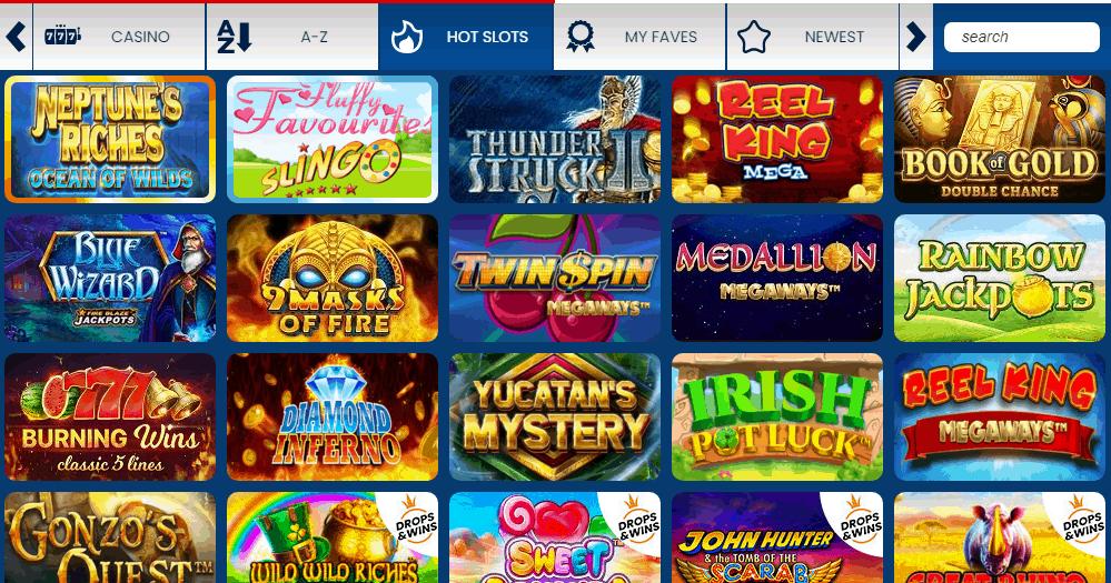 Mirror Bingo Gamepage