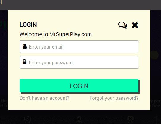 Mr SuperPlay Login
