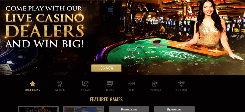 Myb Casino Promotionpage
