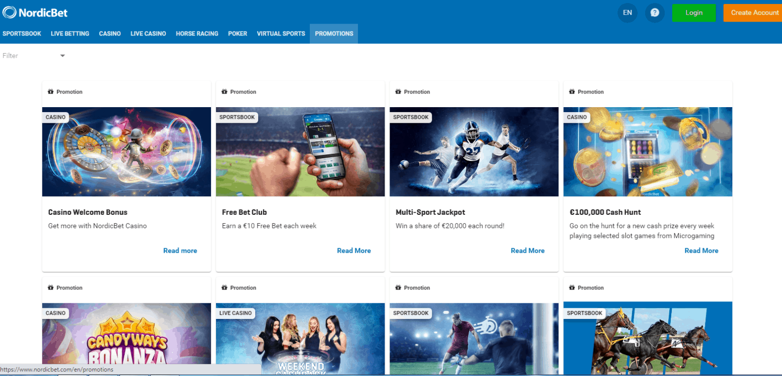 Nordic Bet Promotions