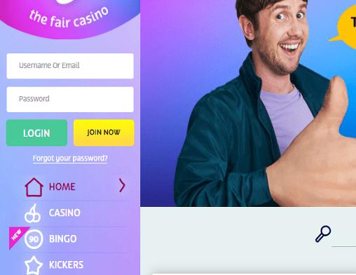 play ojo login page