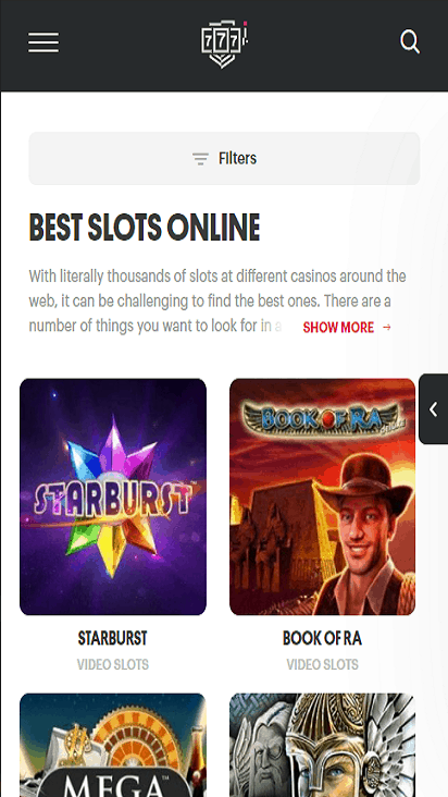 PartyCasino game mobile