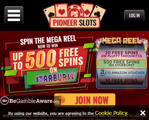 Pioneer Slots 480