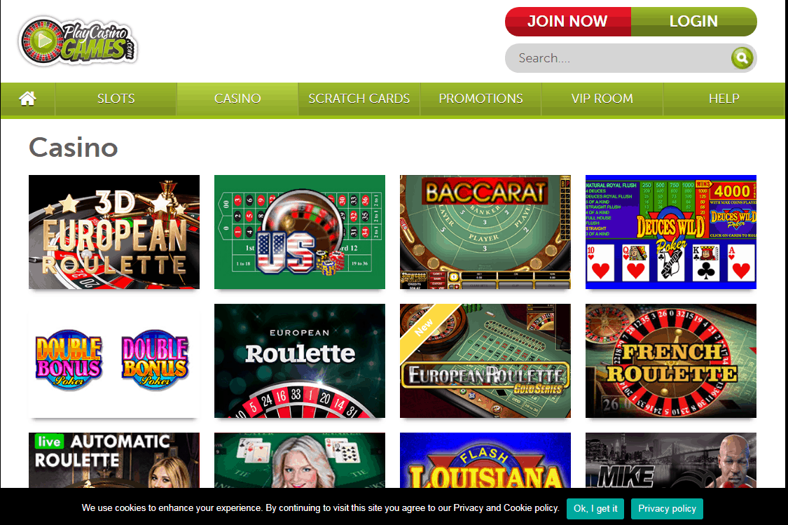Play Casino Games Game