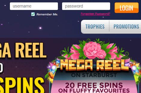 Pretty Slots login