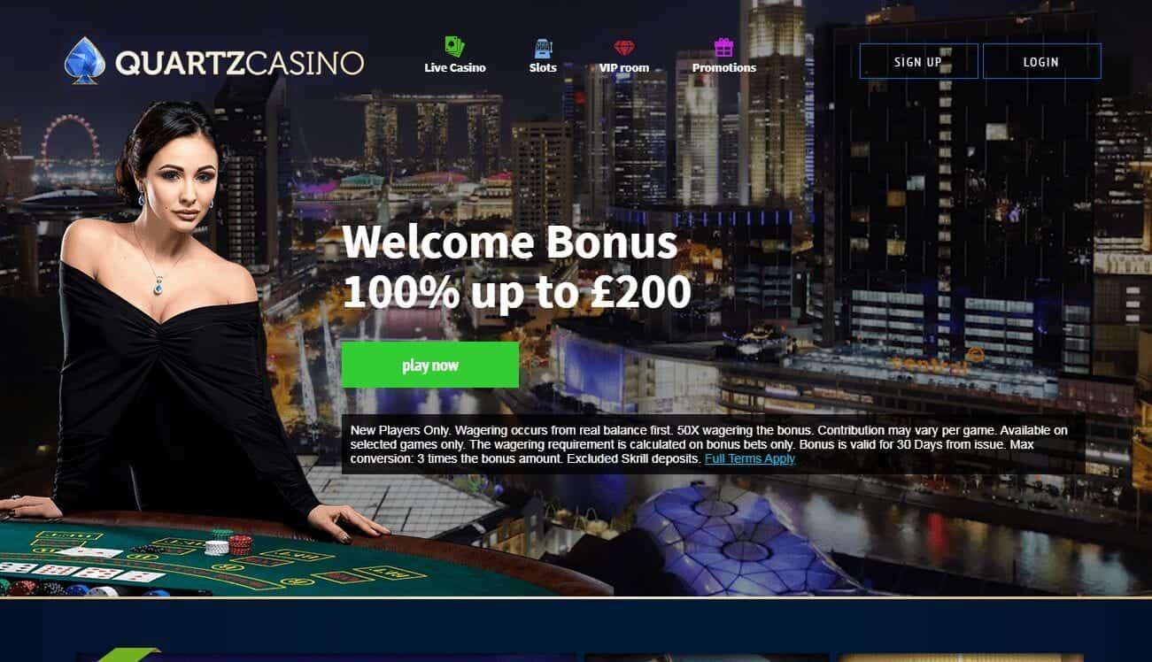 Quartz Casino Home