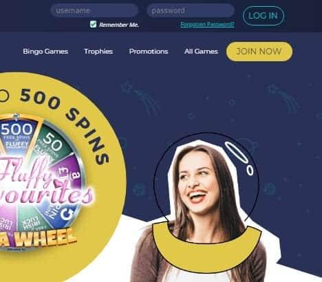 Rocket Bingo login