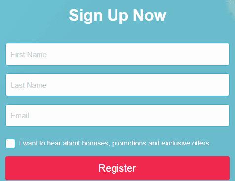 Rosy Bingo Signup